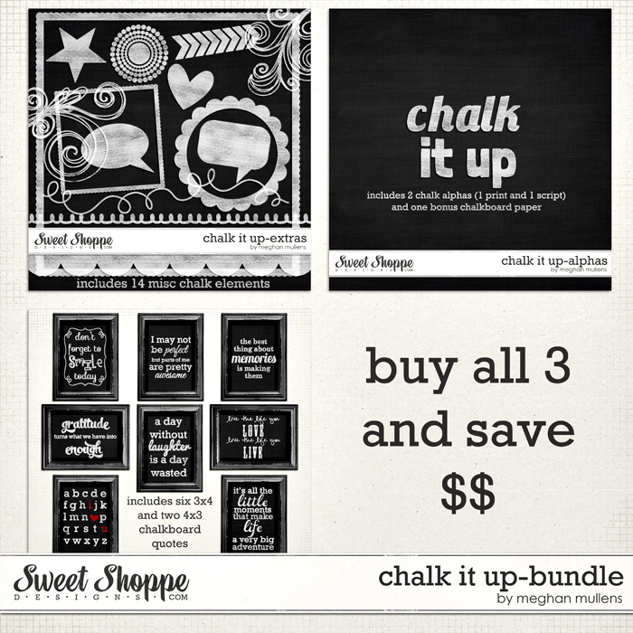 Chalk It Up-Bundle by Meghan Mullens