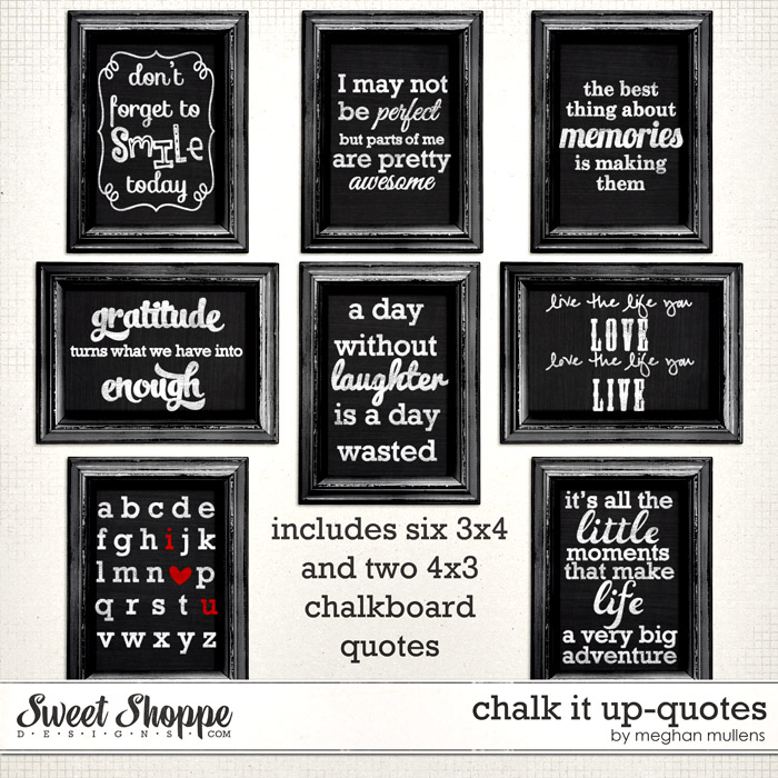 Chalk It Up-Quotes by Meghan Mullens