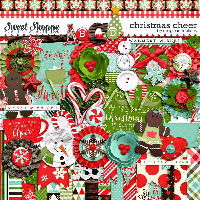Christmas Cheer Kit by Meghan Mullens