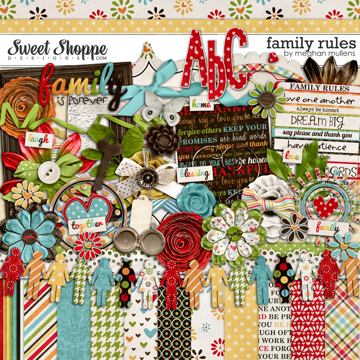 Family Rules by Meghan Mullens