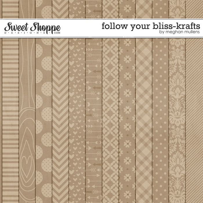 Follow Your Bliss-Kraft Papers by Meghan Mullens