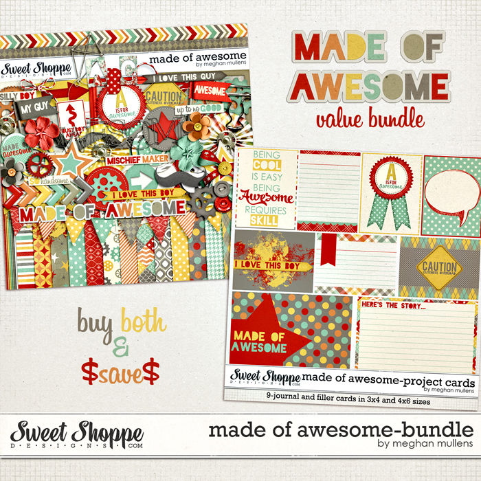 Made Of Awesome-Bundle by Meghan Mullens
