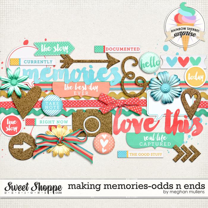 Making Memories-Odds N Ends by Meghan Mullens