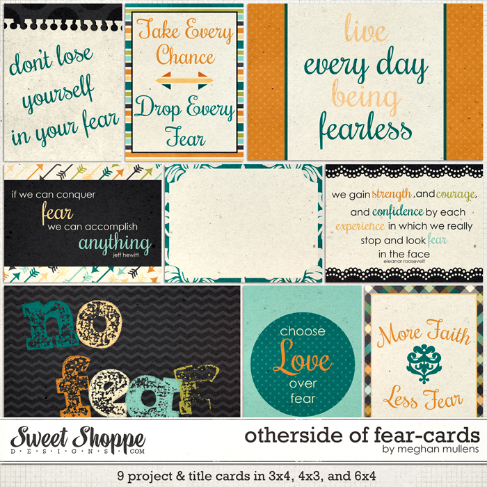 Otherside Of Fear-Project Cards by Meghan Mullens