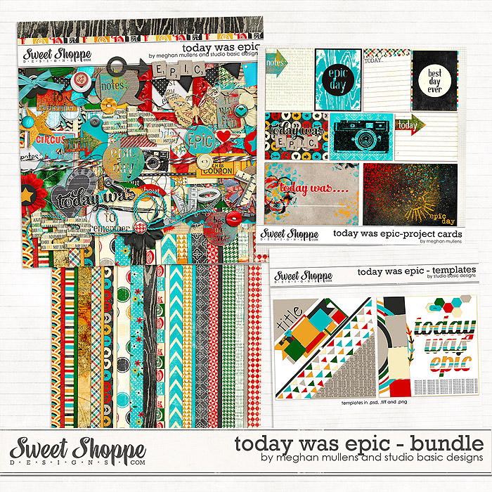 Today Was Epic Bundle by Meghan Mullens & Studio Basic Designs