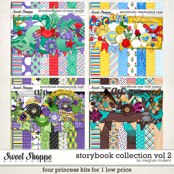 Storybook Collection Volume 2 by Meghan Mullens