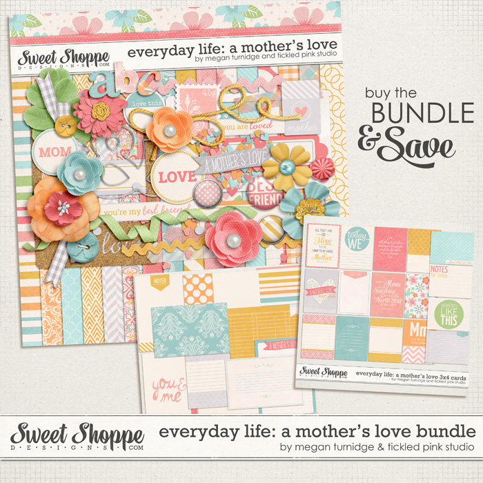 Everyday Life: A Mother's Love Bundle by Megan Turnidge & Tickled Pink Studio