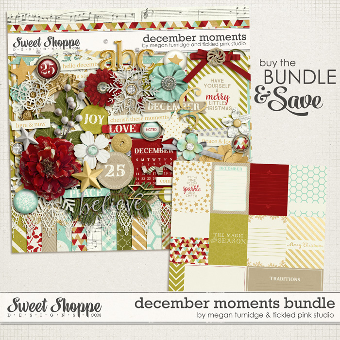 December Moments Bundle by Megan Turnidge & Tickled Pink Studio