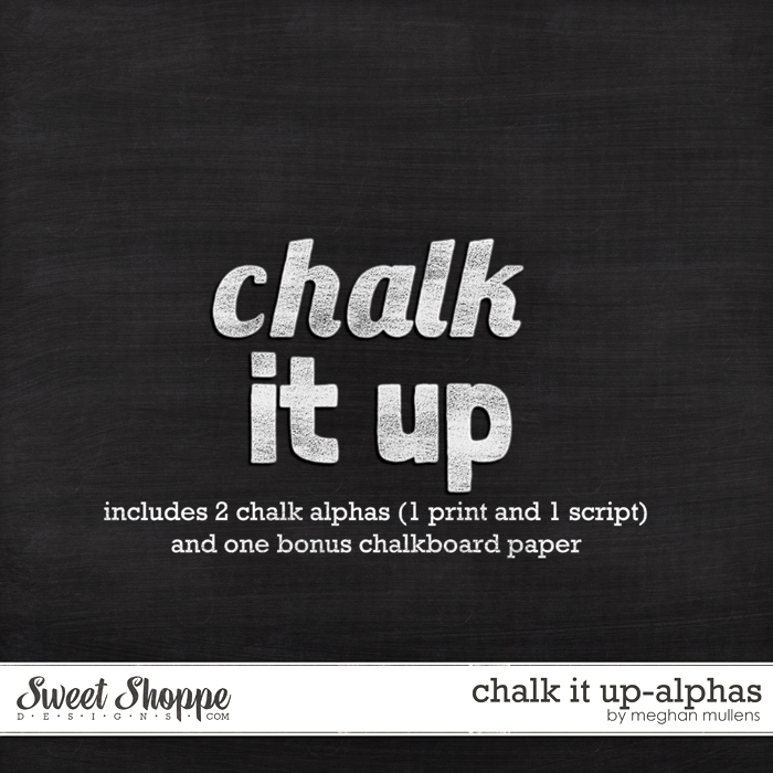 Chalk It Up-Alpha by Meghan Mullens
