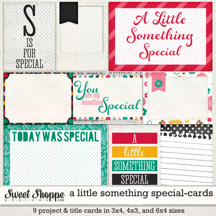A LIttle Something Special-Project Cards by Meghan Mullens