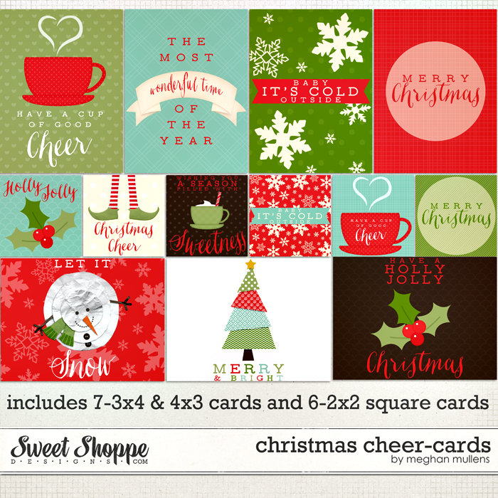 Christmas Cheer Cards by Meghan Mullens