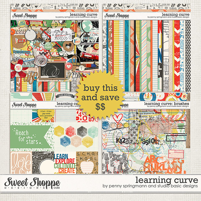 Learning Curve Value Bundle by Studio Basic and Penny Springmann