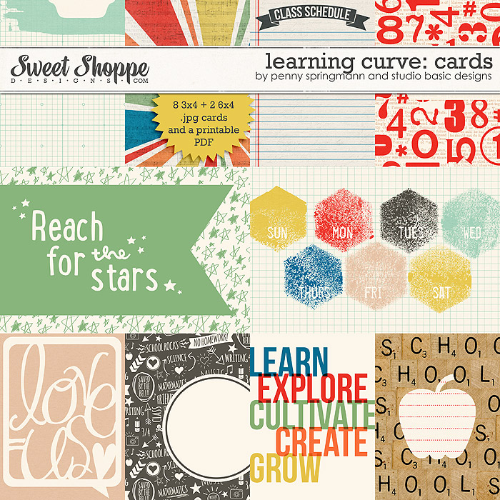 Learning Curve Cards by Studio Basic and Penny Springmann