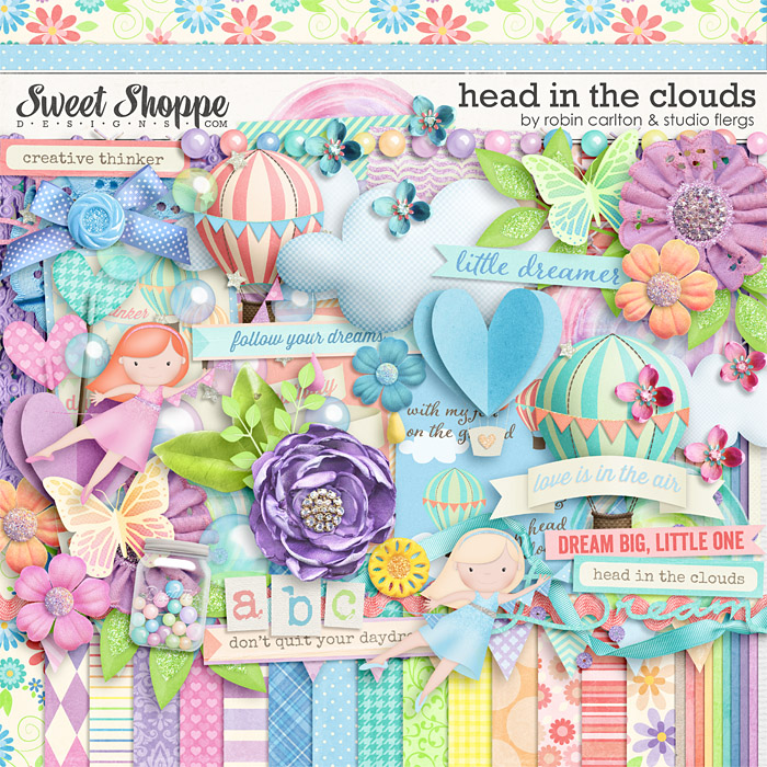 Head In The Clouds by Robin Carlton & Studio Flergs