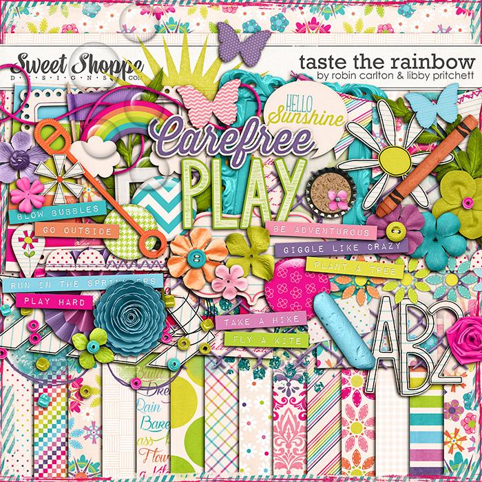 Taste The Rainbow by Robin Carlton & Libby Pritchett