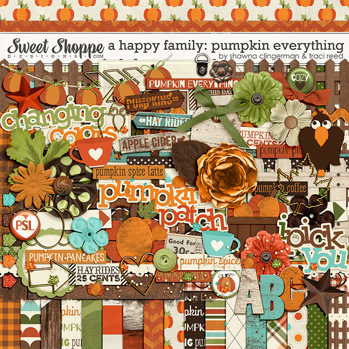 A Happy Family: Pumpkin Everything by Traci Reed & Shawna Clingerman