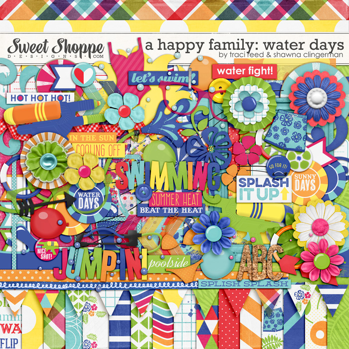 A Happy Family: Water Days by Traci Reed and Shawna Clingerman