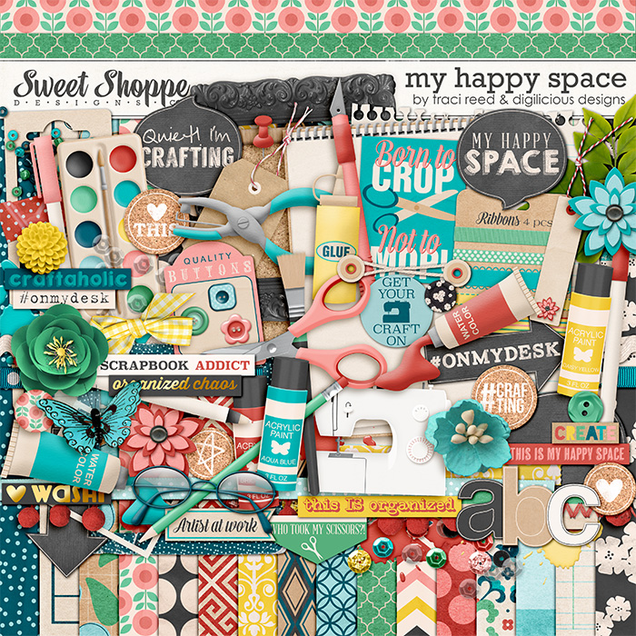 My Happy Space by Traci Reed & Digilicious Design