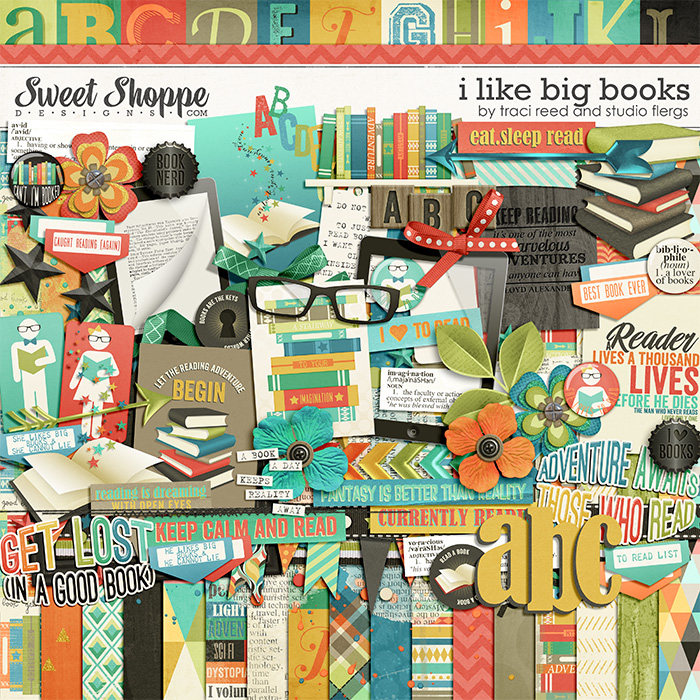 I Like Big Books by Traci Reed & Studio Flergs