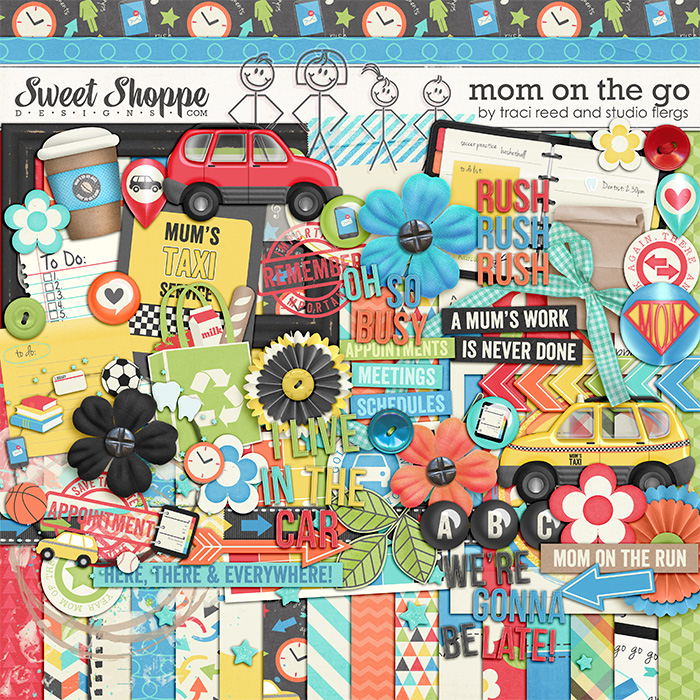 Mom on the Go by Traci Reed & Studio Flergs