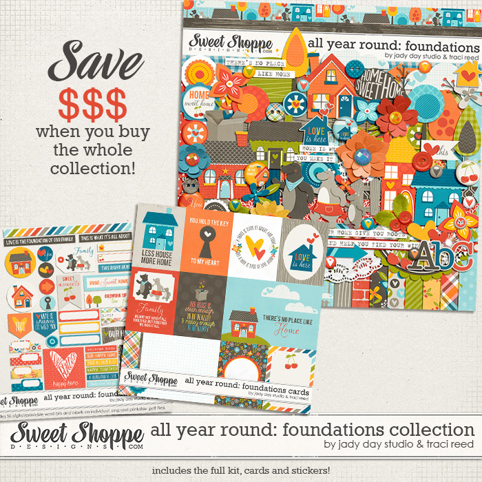 All Year Round: Foundations Collection by Jady Day Studio and Traci Reed
