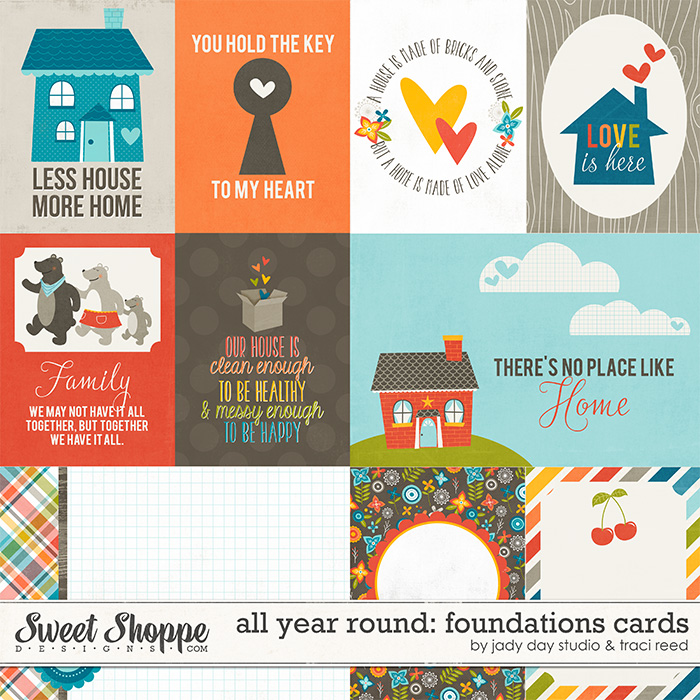 All Year Round: Foundations Cards by Jady Day Studio and Traci Reed