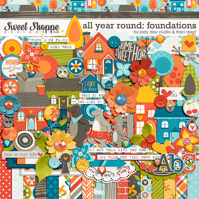 All Year Round: Foundations by Jady Day Studio and Traci Reed