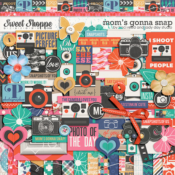 Mom's Gonna Snap by Traci Reed and Jady Day Studio