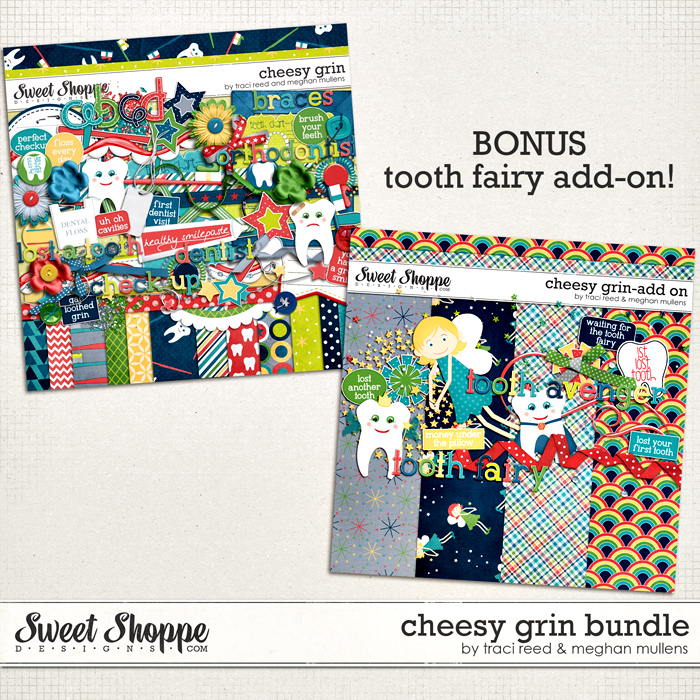 Cheesy Grin-Bundle by Traci Reed and Meghan Mullens