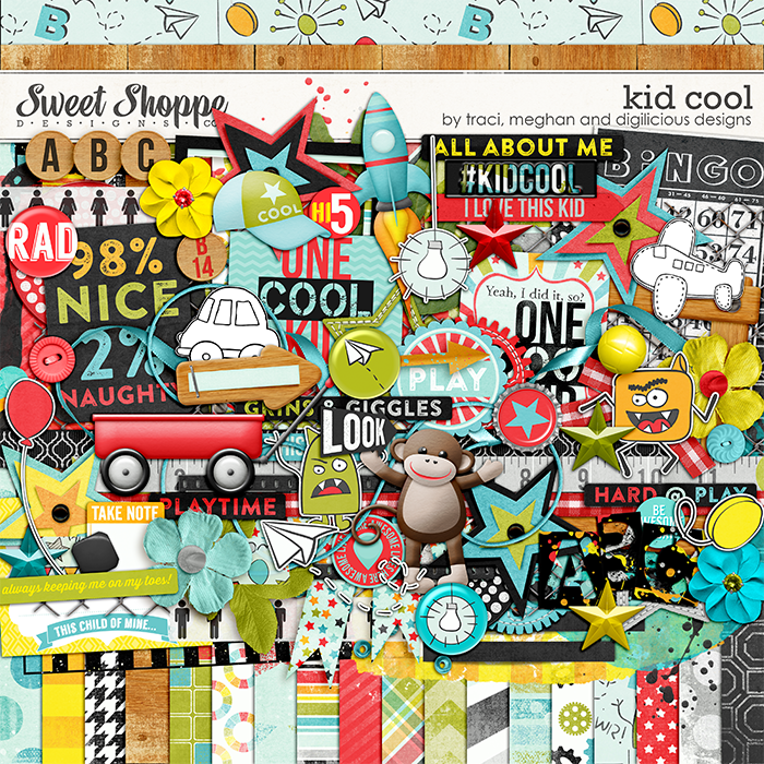 Kid Cool by Traci Reed, Digilicious Designs, & Meghan Mullens