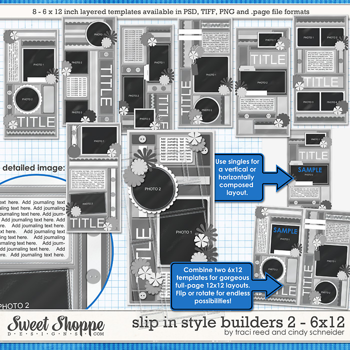 Slip In Style Builders 2 - 6x12 by Traci Reed and Cindy Schneider