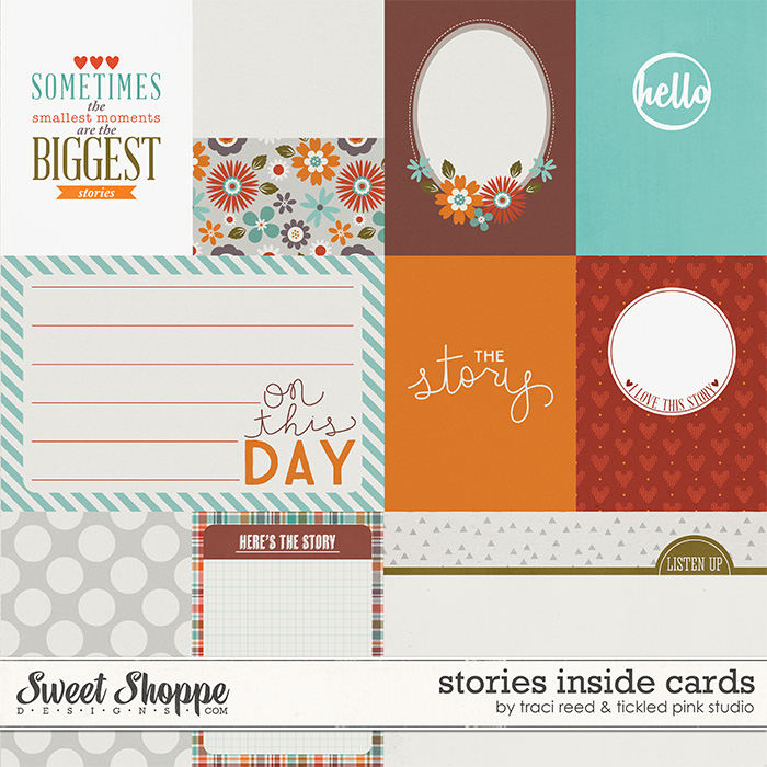Stories Inside Cards by Traci Reed & Tickled Pink Studio