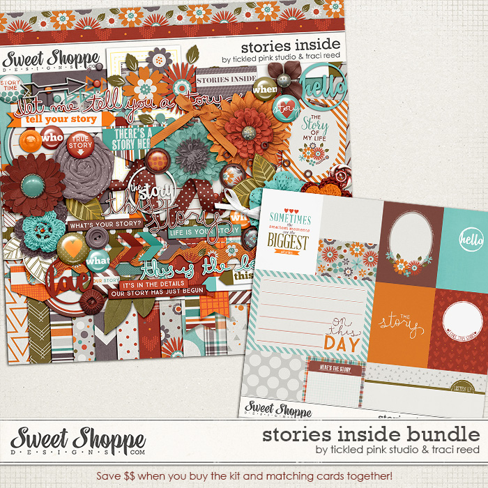 Stories Inside Bundle by Traci Reed & Tickled Pink Studio
