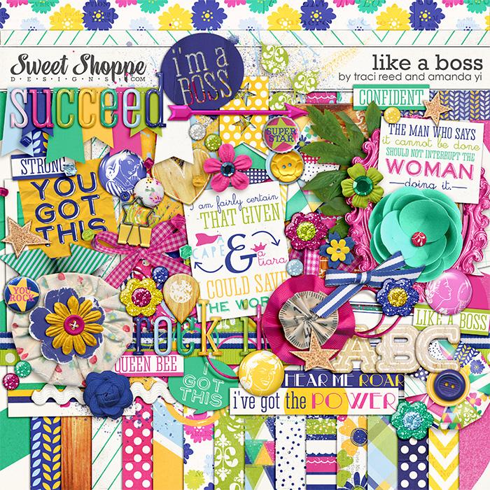 Like A Boss by Traci Reed and Amanda Yi