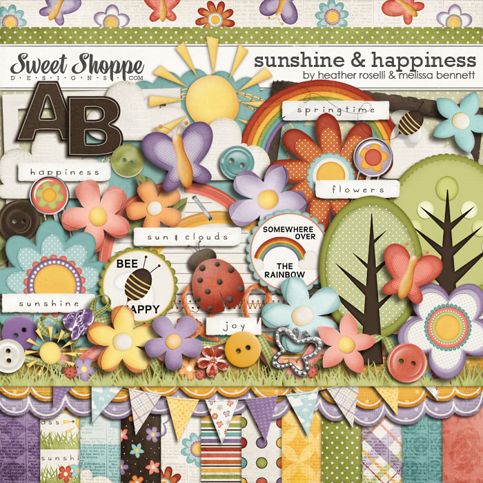 Sunshine & Happiness by Heather Roselli & Melissa Bennett