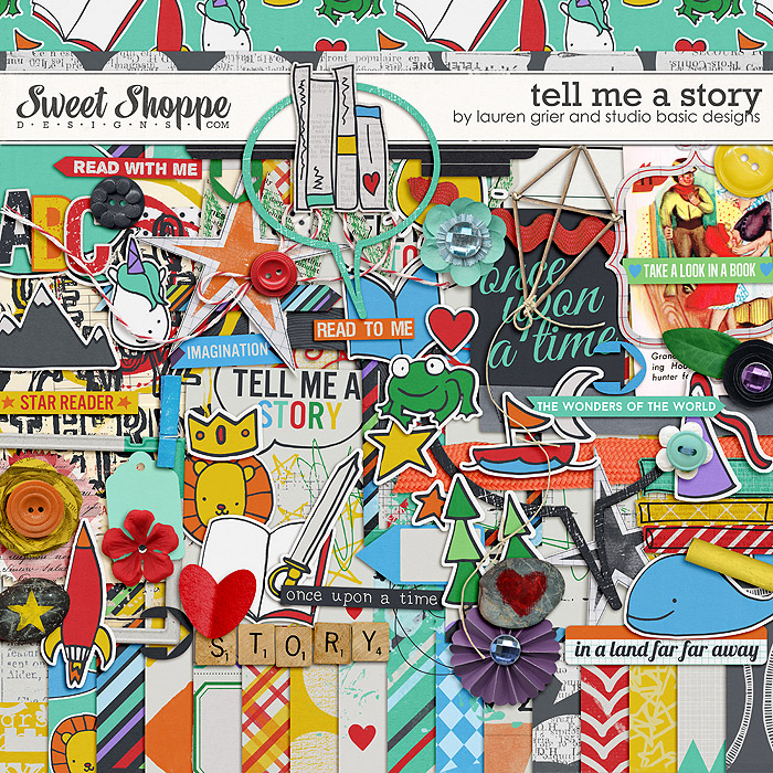 Tell Me a Story by Lauren Grier & Studio Basic