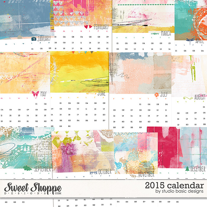 2015 Calendar by Studio Basic