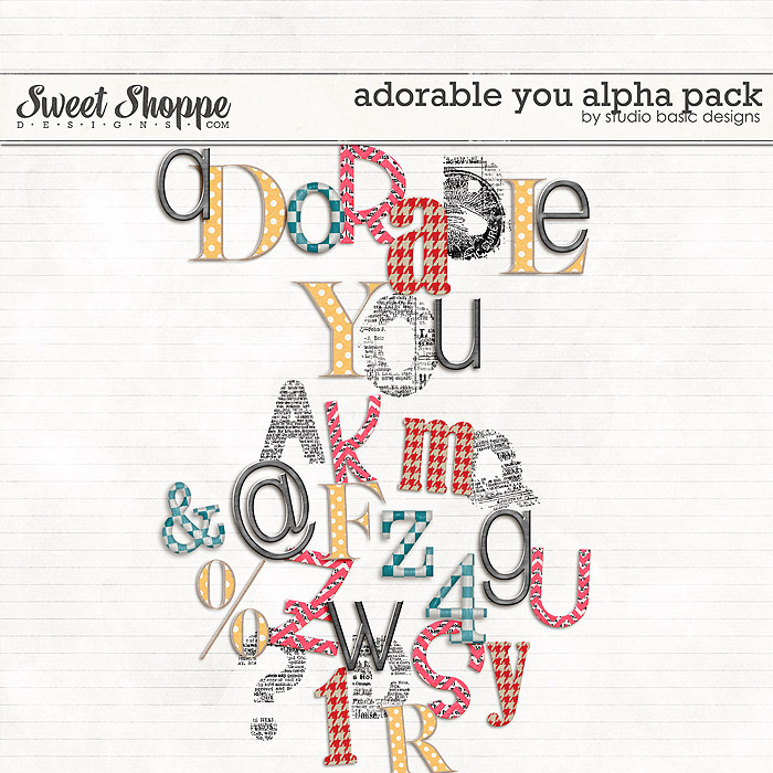 Adorable You Alpha Pack by Studio Basic