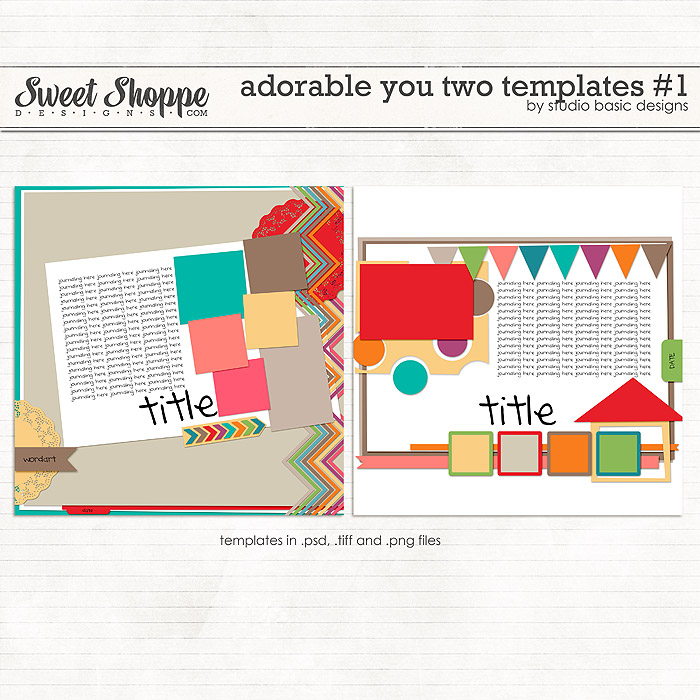 Adorable You Two Templates #1 by Studio Basic