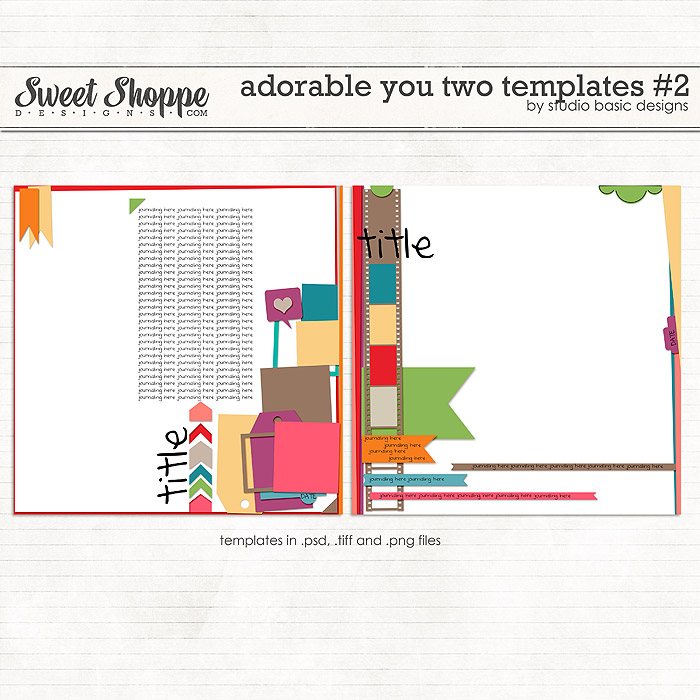 Adorable You Two Templates #2 by Studio Basic