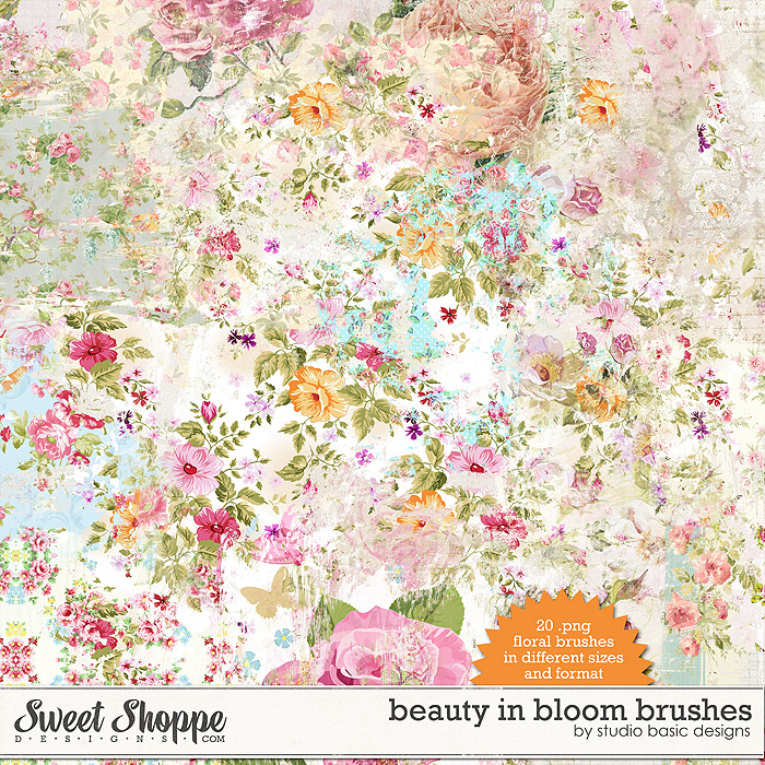 Beauty In Bloom Brushes by Studio Basic