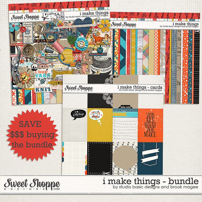 I Make Things Bundle by Studio Basic and Brook Magee