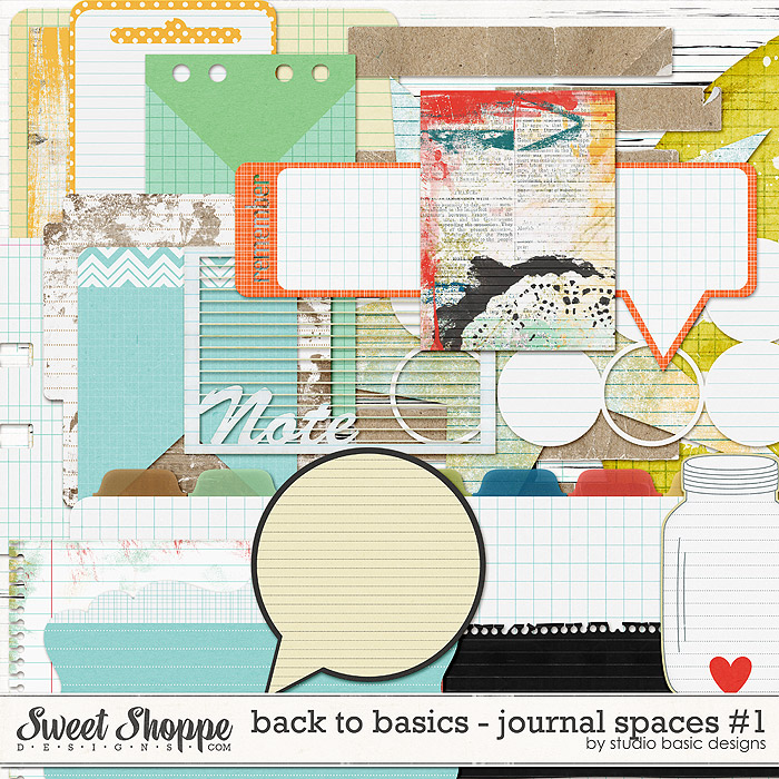 Back To Basics: Journal Spaces #1 by Studio Basic