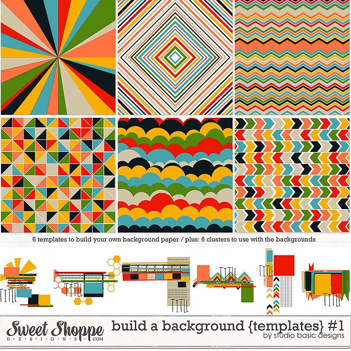 Build A Background {templates} #1 by Studio Basic
