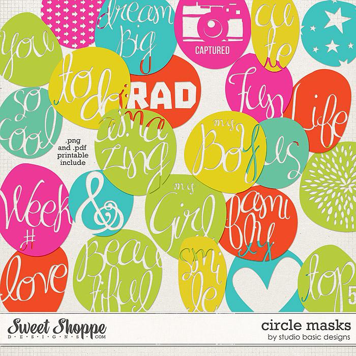 Circle Masks by Studio Basic