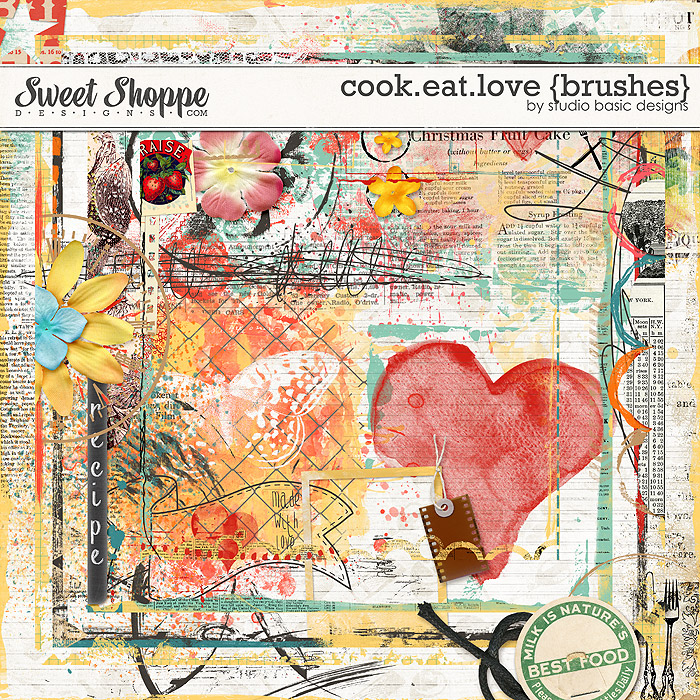Cook.Eat.Love {brushes} by Studio Basic