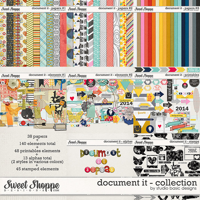 Document It - Bundle by Studio Basic