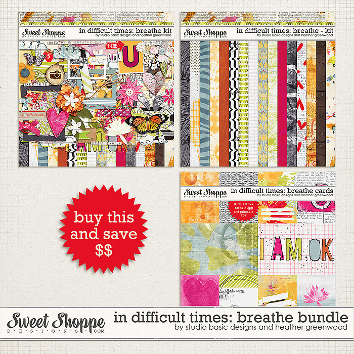 In Difficult Times: Breathe Bundle by Studio Basic and Heather Greenwood