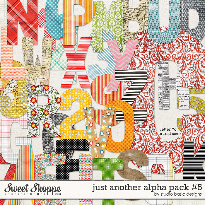 Just Another Alpha Pack #5 by Studio Basic