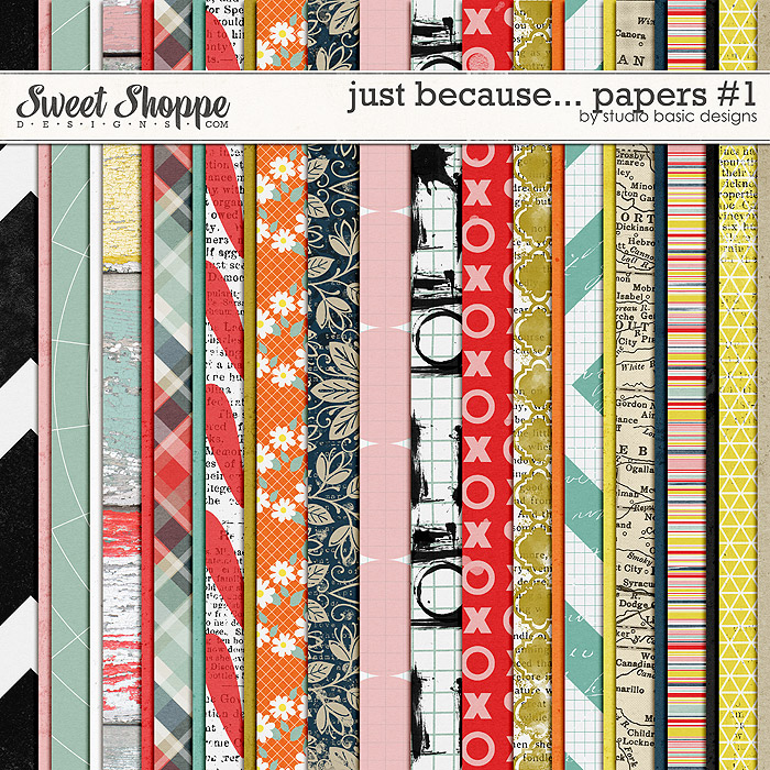 Just Because... Papers #1 by Studio Basic